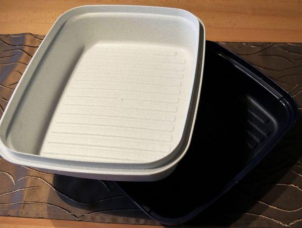 Tupperware großer Laibwächter Brotkasten Brotdose