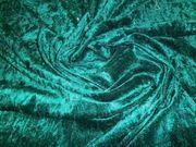 Samt Stoff Dunkel grün 250