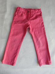 Coloured Jeans Hose Pink für