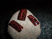 20x künstliche Nägel - Nageltips - Crackle