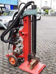 Holzpalter 400V Hydraulik Zapfwelle Hauberg