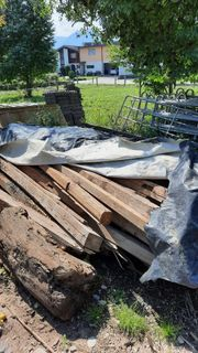 Brennholz Balken abzugeben