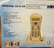 Telefon mit digitalem Anrufbeantworter neuwertig