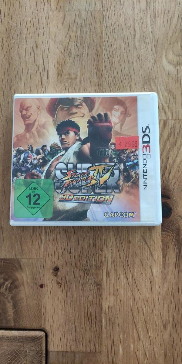 3DS Spiel Super Street Fighter