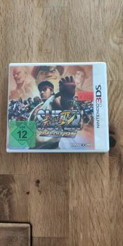 3DS Spiel Super Street Fighter