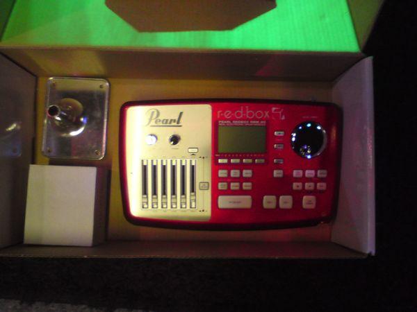 Pearl Red Box E-Drum Soundmodul