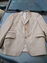Herren Anzug beige Gr M