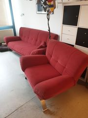 3-Sitzer Couch mit Sessel
