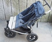 Urban jungle duo Zwillings-Kinderwagen mit