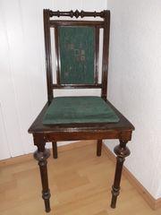 antike stühle - 4 Stück zum