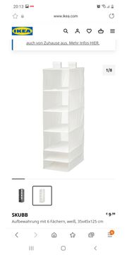 SKUBB Ikea Schrankaufbewahrung