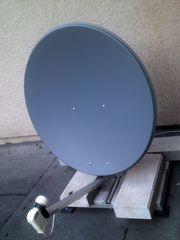 Satelittenschüssel mit 1 LNB und