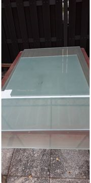Satinierte Glasplatte Tempered Glas 1