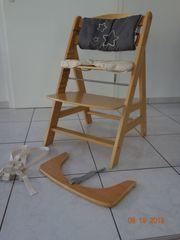 Hauck Hochstuhl Holz Baby Kinder