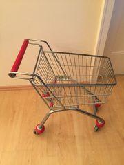 Kinder - Einkaufswagen Original Metall