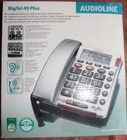 Großtastentelefon BigTel 49Plus mit Norufknopf