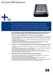 HP-Scanjet 4890 C