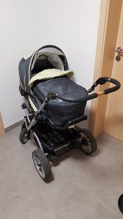Gepflegter Kinderwagen Teutonia Mistral S