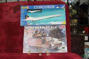 2x Bausätze Revell Flieger Concorde
