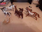 7 Schleich Pferde