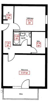 2 Zimmerwohnung in ruhiger idyllischer