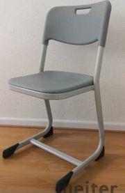 Köln 9x stapelbare Stühle Bürostühle