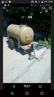 600 Liter Wasser wagen funktionsfähig