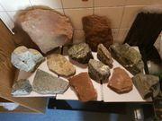 Verkaufe 14 Stück Aquarium Stein