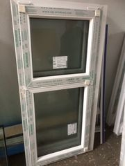 2 neue Kunststoff Fenster Salamander