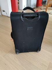 Zwei Reisekoffer Nylon schwarz