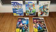 5 Wii Spiele
