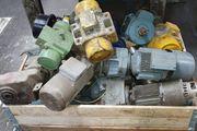 Ankauf von Getriebemotoren Demag Hallenkräne