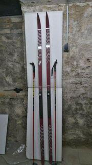 Neuwertiger Glasfaser Herren Langlauf Ski