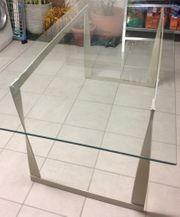 Eleganter Glastisch zu verschenken