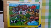 Rahmenpuzzle Bauernhof von Ravensburger