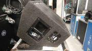 6 Monitor Wedges Inklusive Flightcases
