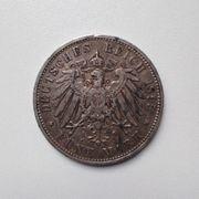 5 Mark Münze Württemberg