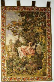 Gobelin Tapisserie Tapestry Bildteppich Wandteppich