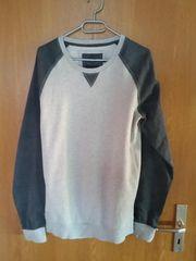 BVB Sweatshirt grau Gr M