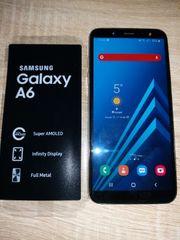 Samsung galaxy A6 wenig benutzt