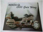 Altes Blechschild Motorrad Honda GL