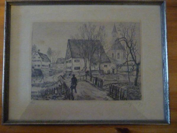 Zeichnung limitiert signiert von 1920