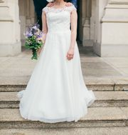 Elizabeth Passion Brautkleid in Ivory