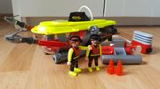 Playmobil U-Boot Tiefsee-Tauchboot mit Unterwassermotor