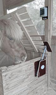 Futteraufe Pferde automatisch gesteuert zum