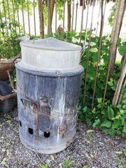 ALTER Waschkessel Ofen 50 60er
