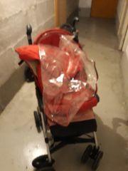 Buggy inkl Fußsack und Regenschutz