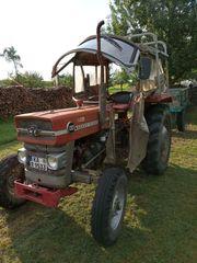 Massey Ferguson F133 Anhänger Traktor