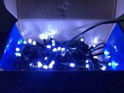LED Aussenlichterkette - 80 LED - weiß -
