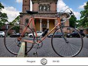 Peugeot Course Rennrad in orange